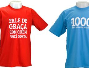 Camisetas Promocionais Personalizadas
